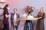 Caudalie sorgte für Spa-Momente im eigenen Badezimmer und lüftete zugleich das Geheimnis hinter der Pflegeroutine der Französinnen. Schritt für Schritt erfuhren die Zuschauerinnen, wie sie ihre Haut zum Leuchten bringen und ein bisschen Wellness in ihren Alltag integrieren.