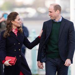 Herzogin Kate + Prinz William: spazieren