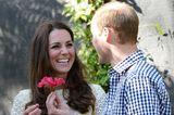 Herzogin Kate + Prinz William: mit Blüte
