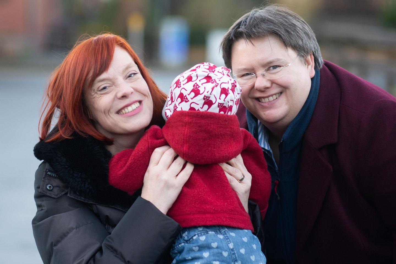 Beidseitige Elternschaft: Gesa und Verena
