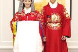 Hochzeitskleider aus aller Welt: Brautpaar in traditioneller Kleidung