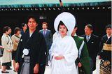 Hochzeitskleider aus aller Welt: Brautpaar in Japan
