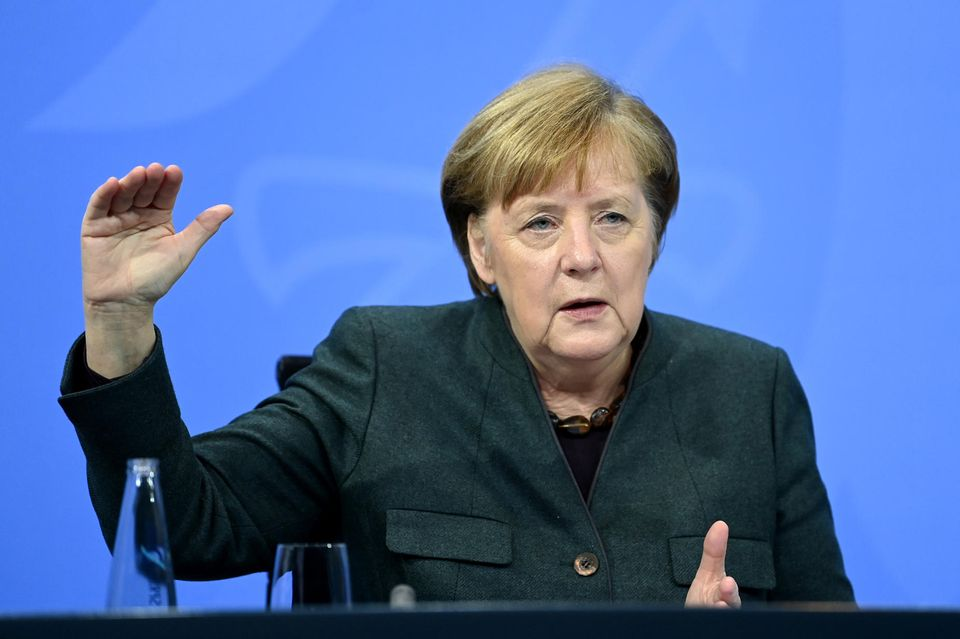 Angela Merkel: Lockdown-Verlängerung