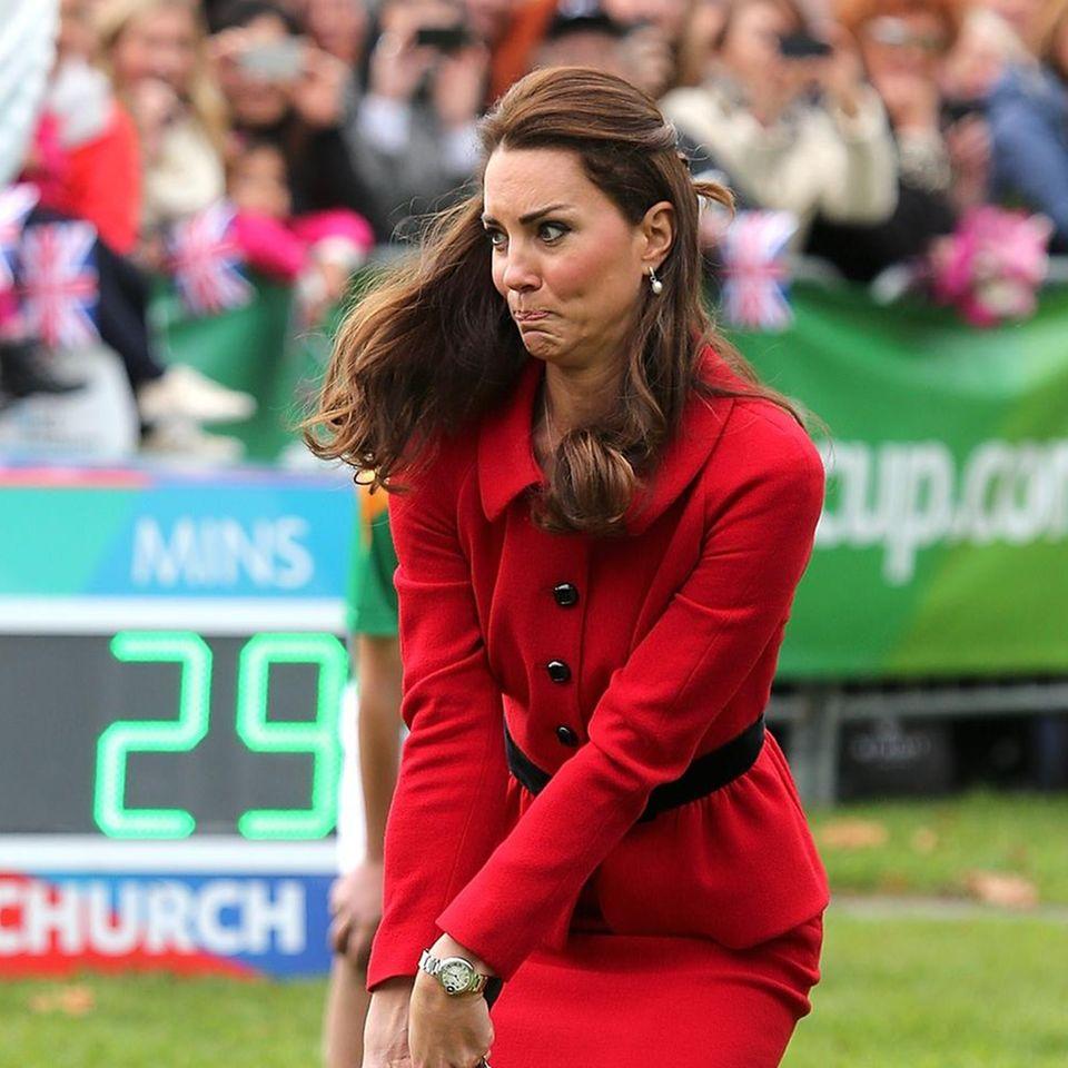 Royals: Kate beim Hockey