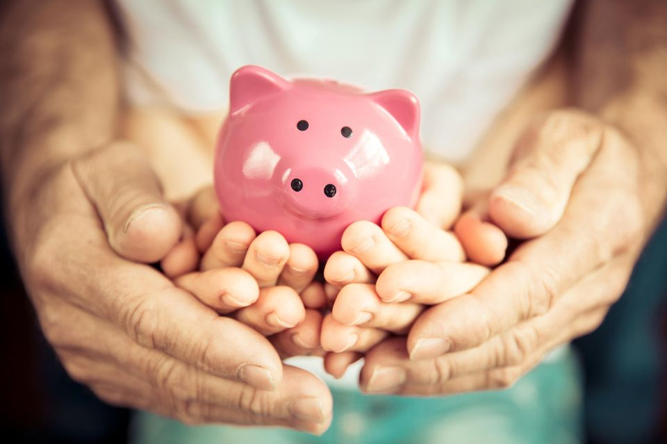 Geld sparen: Sparschwein