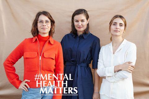 """V.l.: Johanna Dreyer, Luisa Weyrich undNele Groeger, Gründerinnen der Agentur """"Shitshow"""""""
