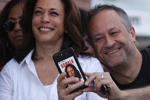 Kamala Harris und Doug Emhoff