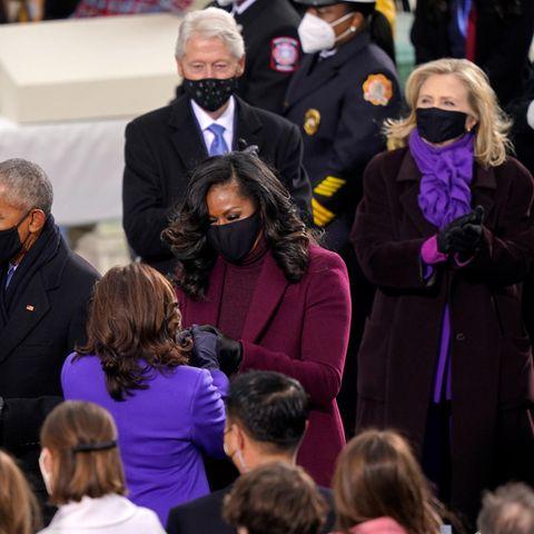 Michelle Obama: Kamala Harris und Hillary Clinton