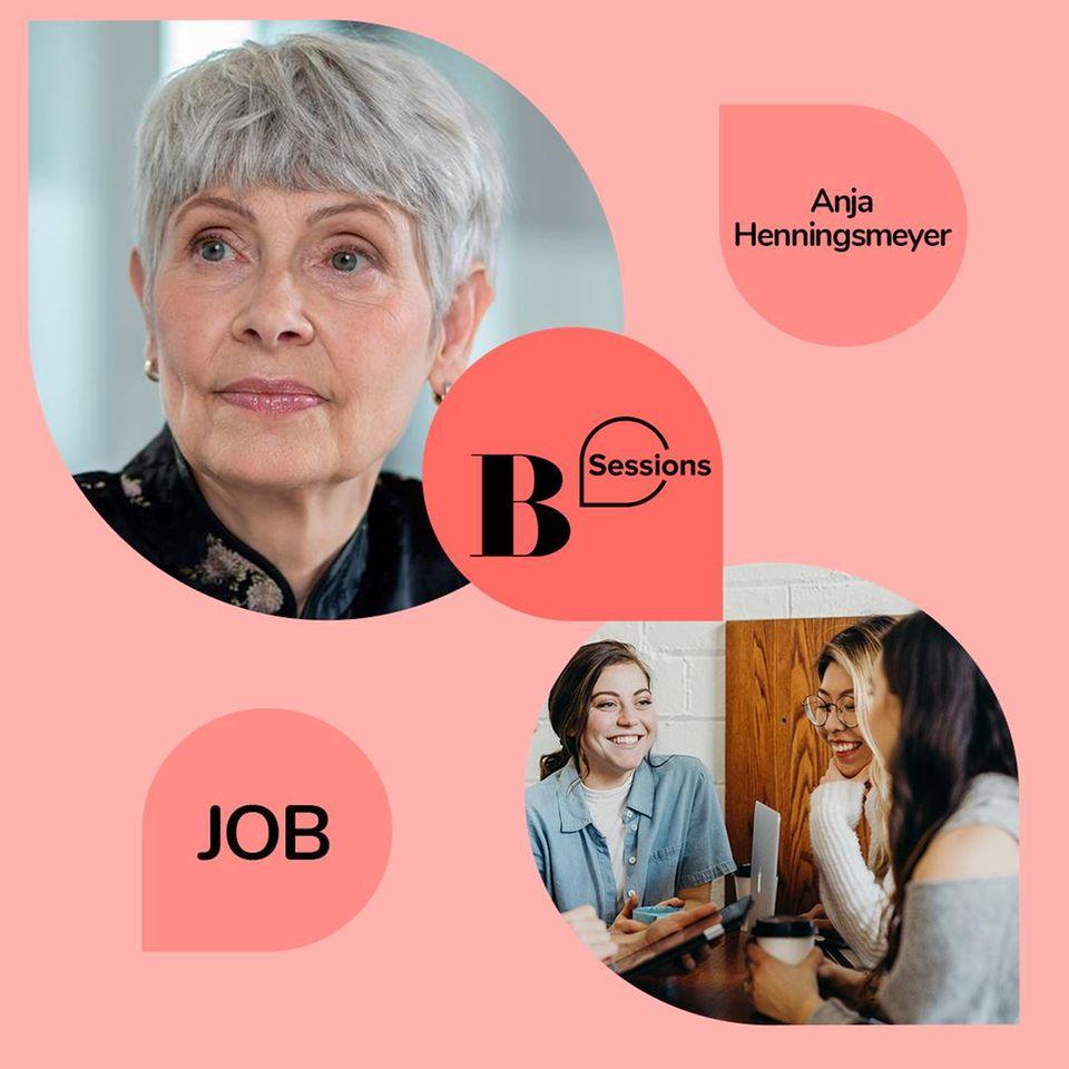"""Zusammen mit BRIGITTE Academy Expertin Anja Henningsmeyer arbeitet ihr in der Session interaktiv an euren Fragen zum Thema """"Gehalt verhandeln""""."""