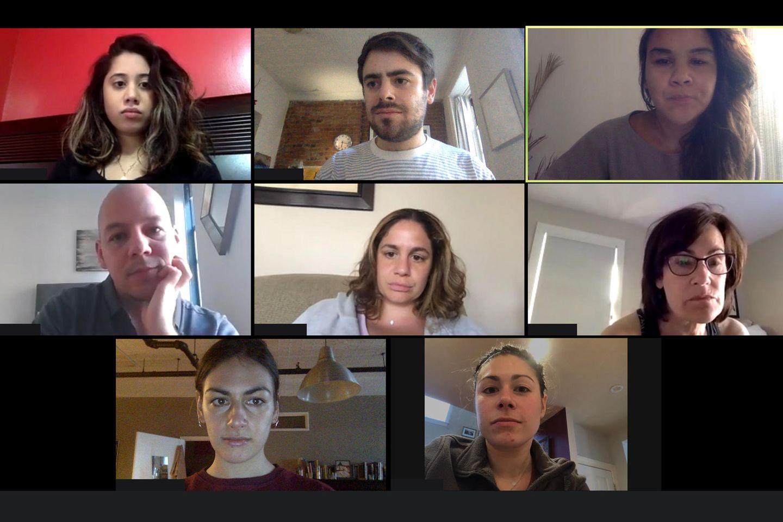 Pandemie-Knigge: Kollegen im Chatfenster