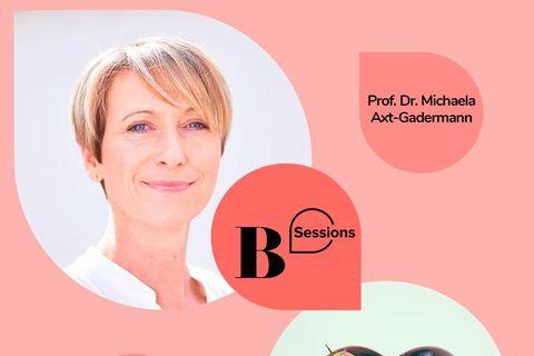 Sessions 2021: 16. Dezember: Äußerlich strahlen dank eines gesunden Darms! Mit Prof.Dr. Michaela Axt-Gadermann