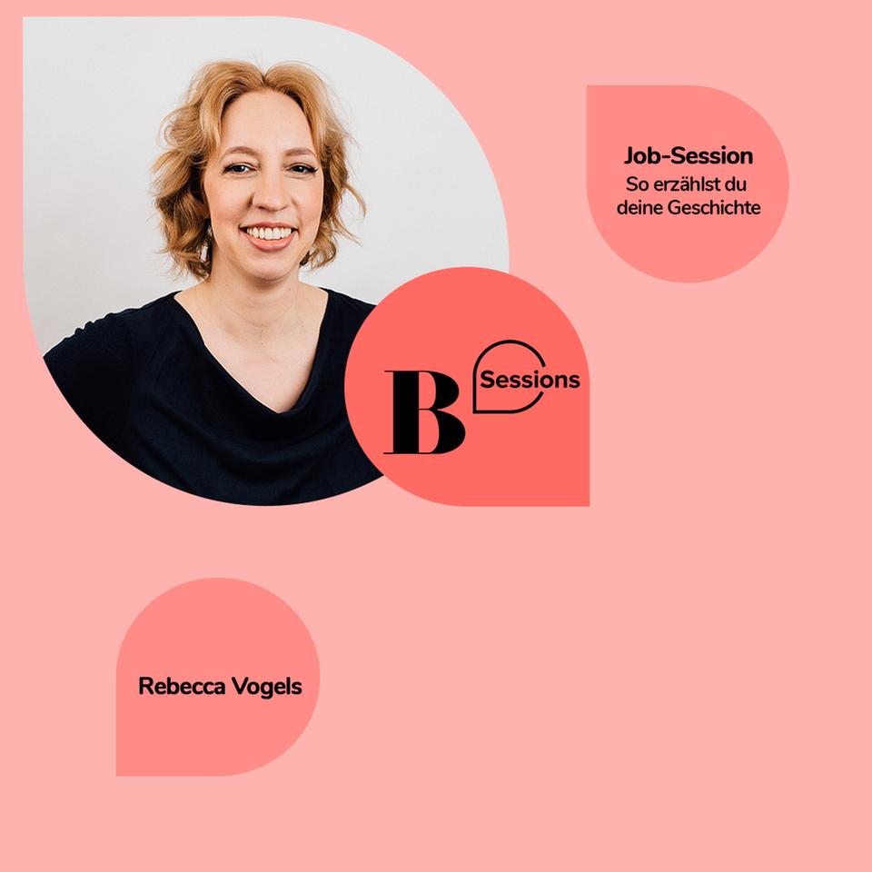 Autorin und Speakerin Rebecca Vogels gibt Tipps, wie und wo man die eigene Geschichte am besten erzählt.