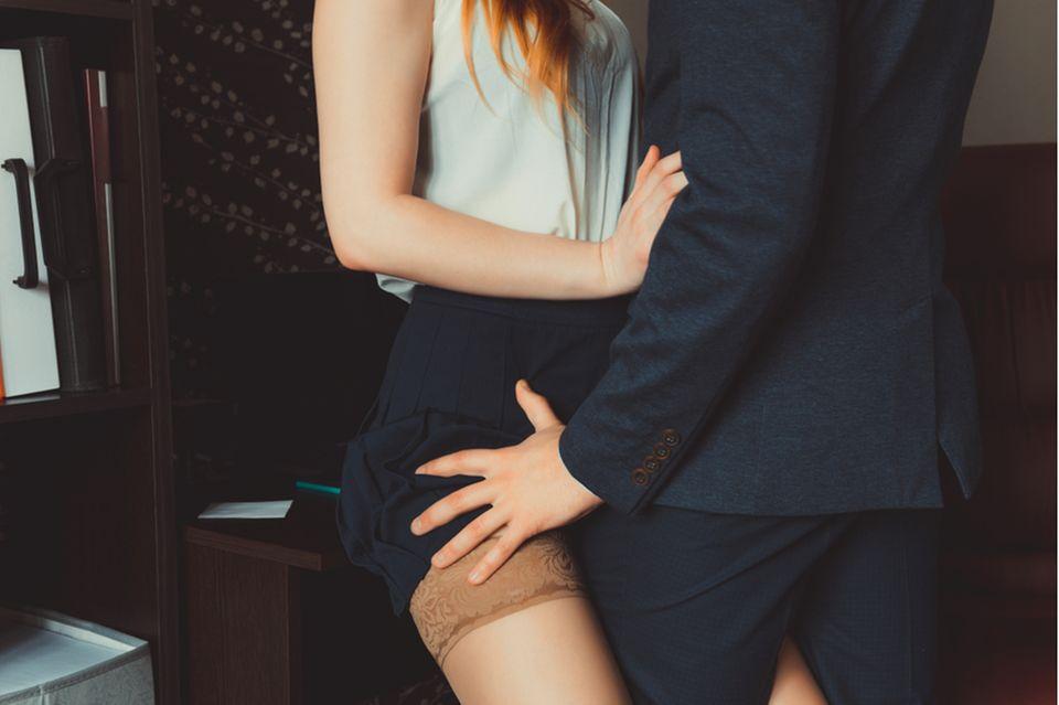 Sex im Büro: Arbeitskollegen