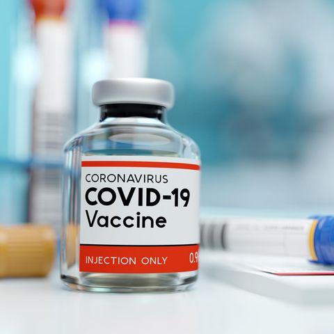 Corona aktuell: Eine Flasche Impfstoff