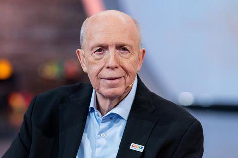 Reiner Calmund beim 25. RTL-Spendenmarathon, November 2020
