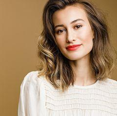 Vorher-Nachher-Frisuren: Ruxandra nachher