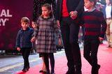 Modische Promi-Kids: Prinz George, Prinzessin Charlotte und Prinz Louis
