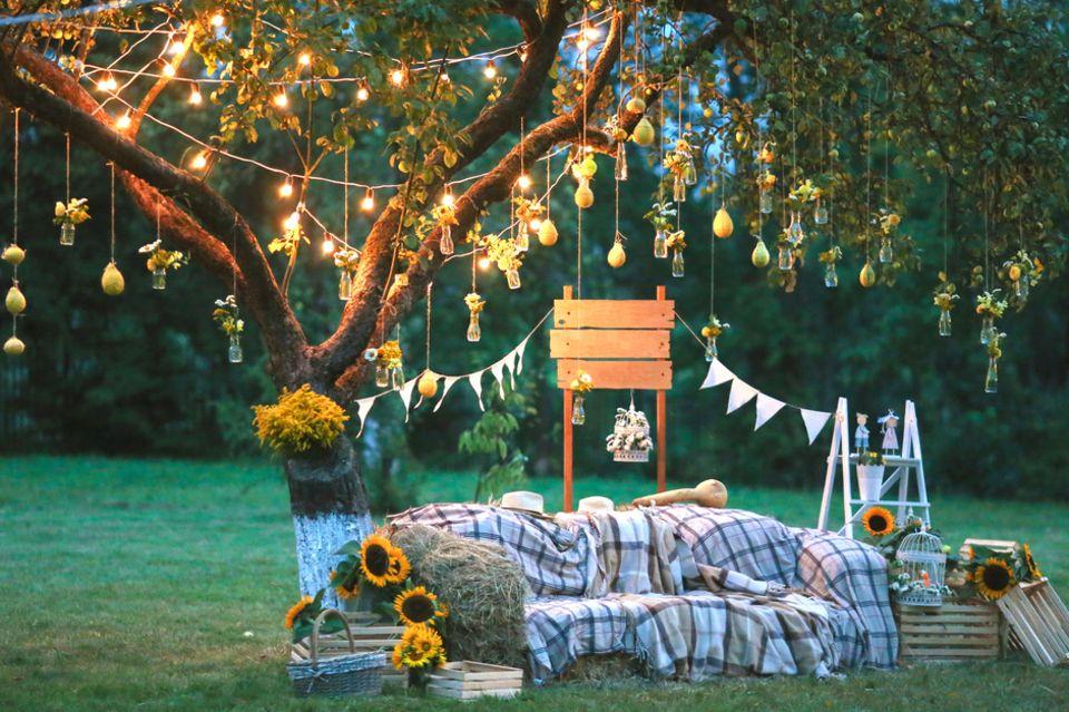 Gartenhochzeit: Wedding Lounge