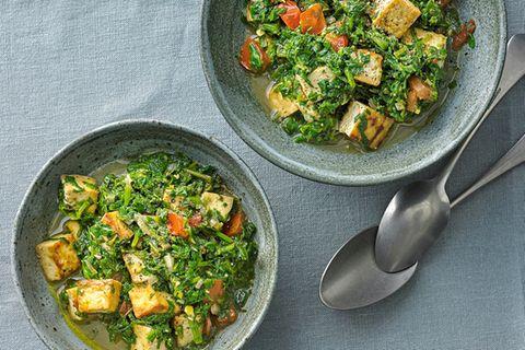Palak-Tofu
