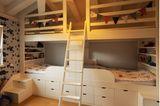 Geschwisterzimmer: Zwei Betten-nebeneinander