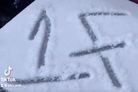 Zeichen im Schnee