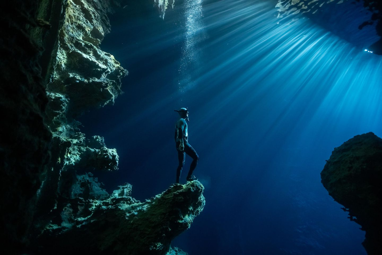 Ocean Photography Awards: Ein Freitaucher unter Wasser