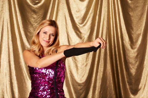 """Stefanie Hertelbei""""Showtime of my Life"""" (alle Folgen beiTVNOW)."""