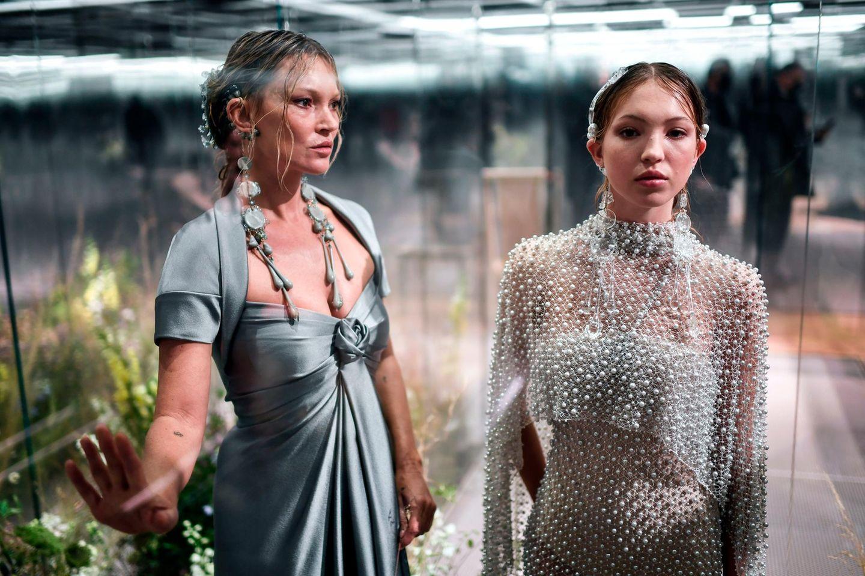Style-Twins: Kate Moss und Lila Grace Moss