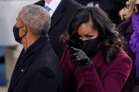 Barack + Michelle Obama bei Amtseinführung