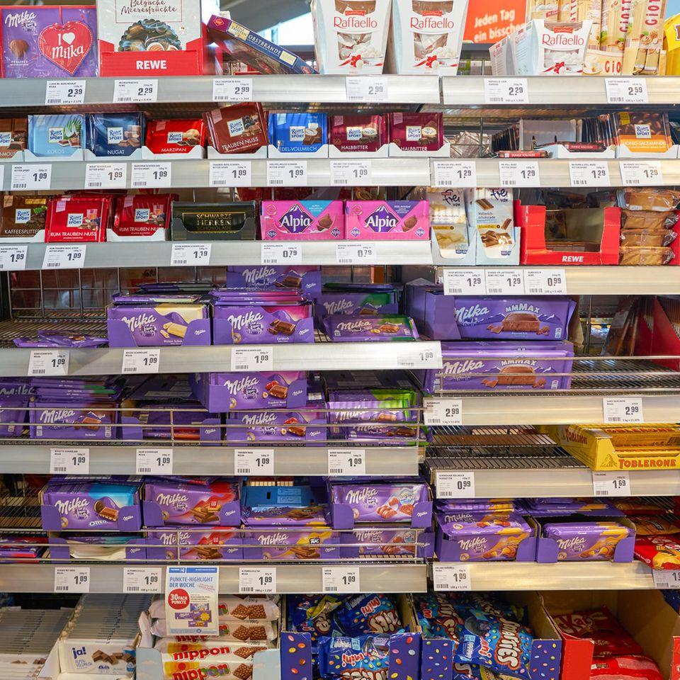 Rückruf: Schokolade aus dem Supermarkt