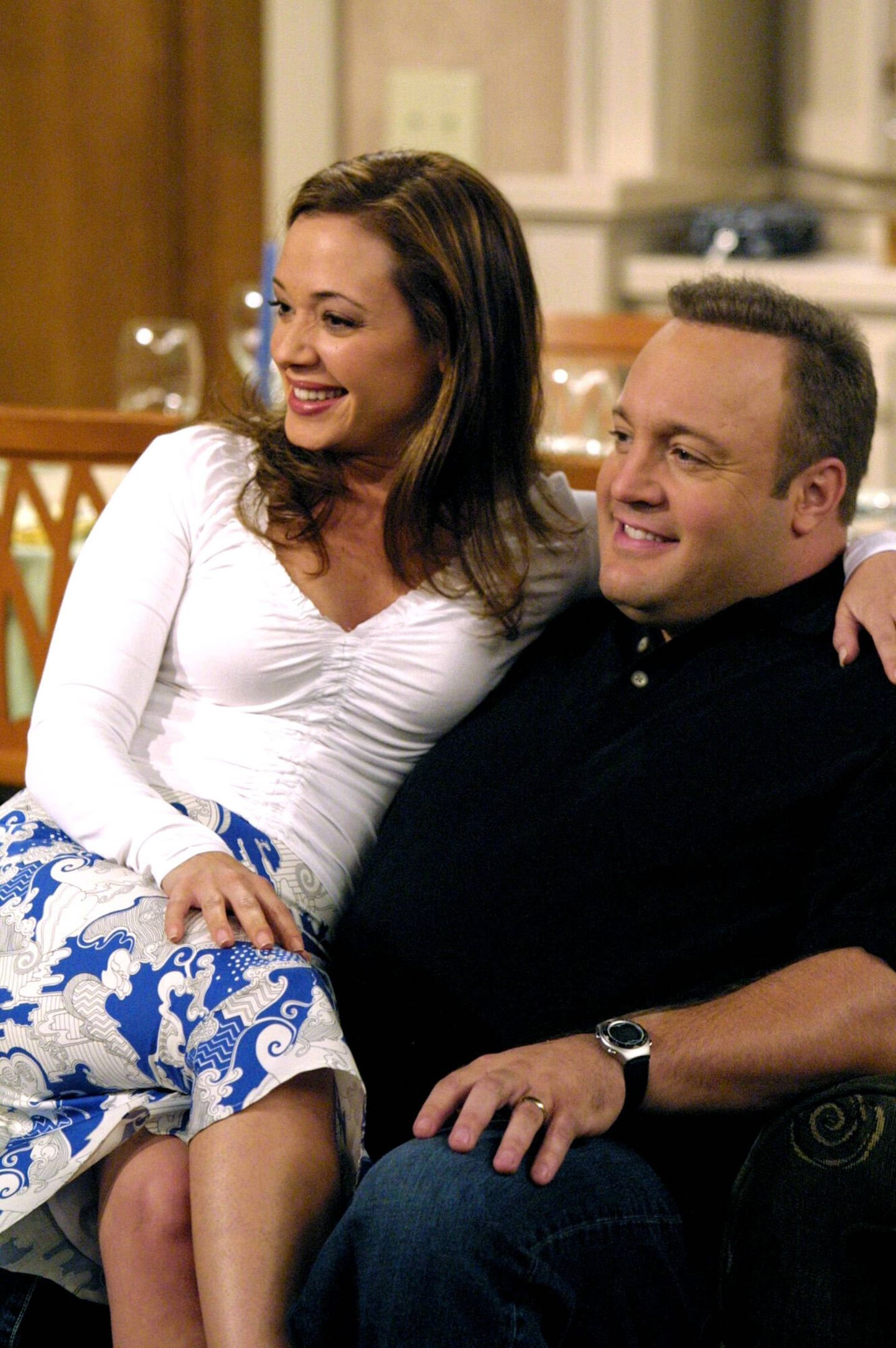 Serienpaare: Leah Rimini und Kevin James