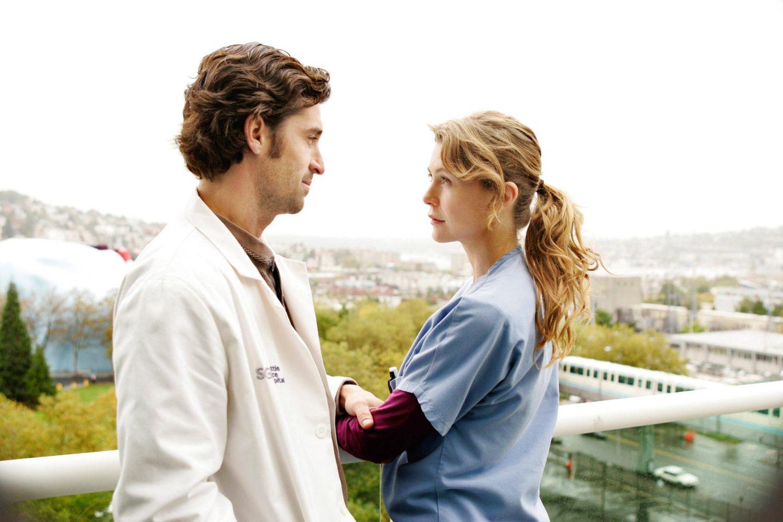 Serienpaare: Ellen Pompeo und Patrick Dempsey
