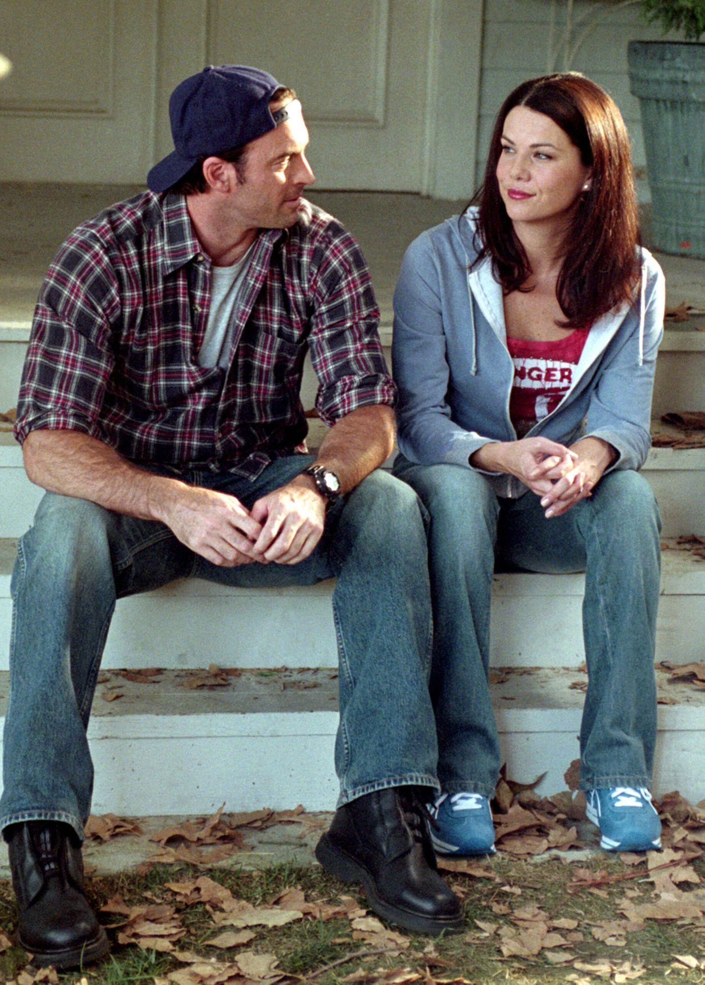 Serienpaare: Lauren Graham und Scott Patterson