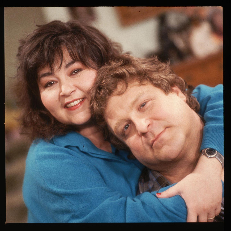 Serienpaare: Roseanne Barr und John Goodman