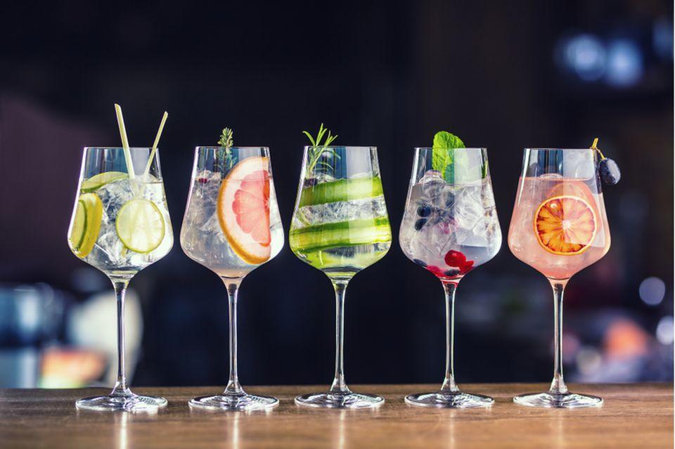 Sektempfang: Sommerdrinks