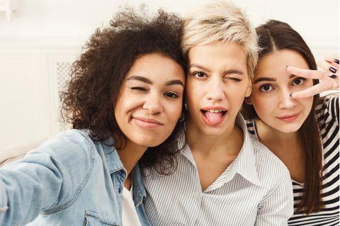 Myers-Briggs: Drei Frauen nebeneinander