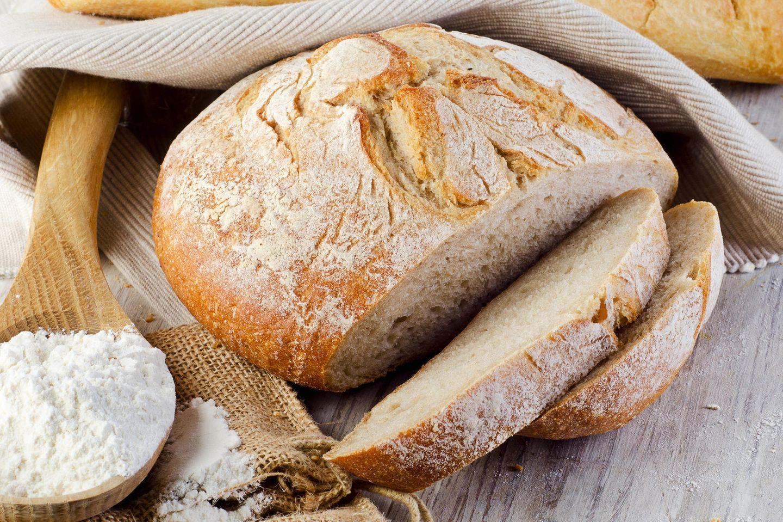 Jamie-Oliver-Brot mit vier Zutaten