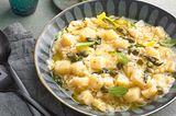 Sellerie-Risotto mit Salbei und Kapern