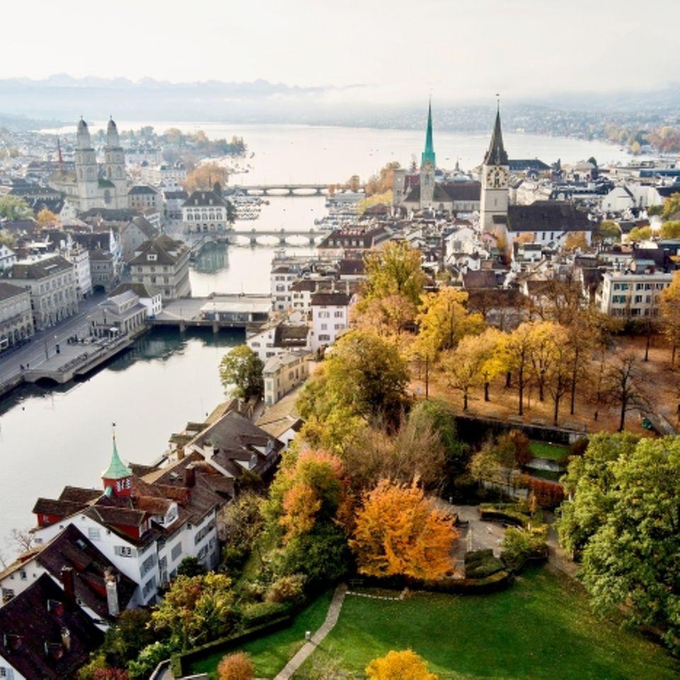 Zürich ist wunderschön
