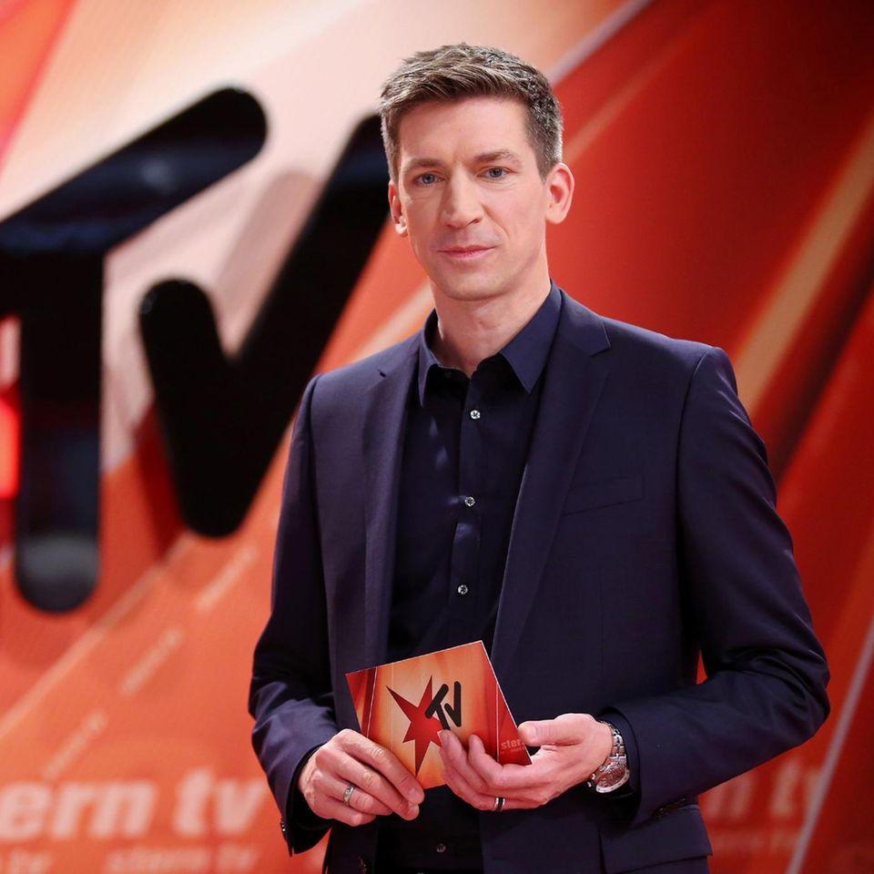 Stern TV: Moderator Steffen Hallaschka
