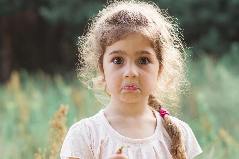 Kind anschreien: Kind ist geschockt