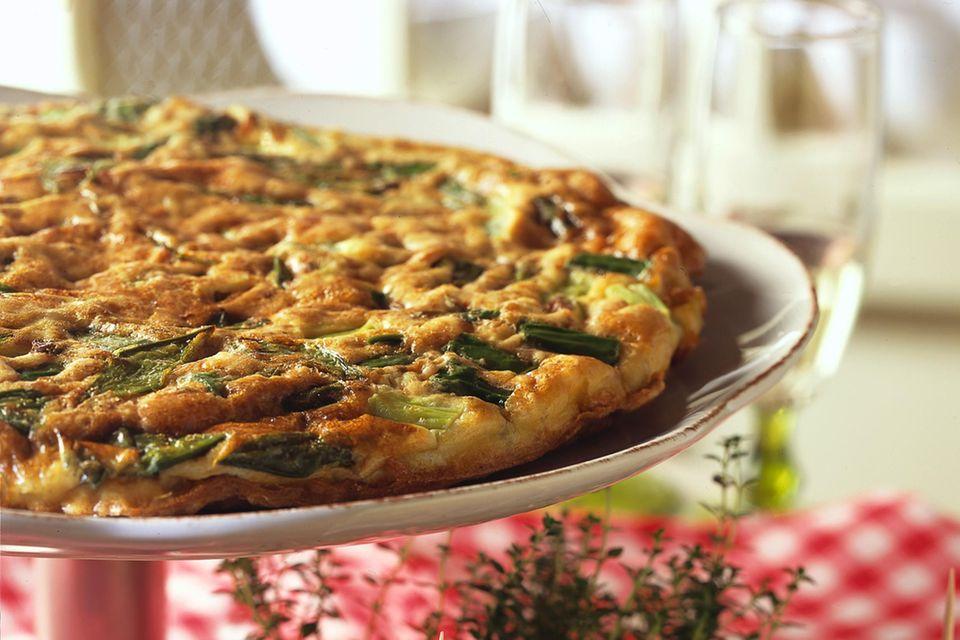Spargel-Tortilla