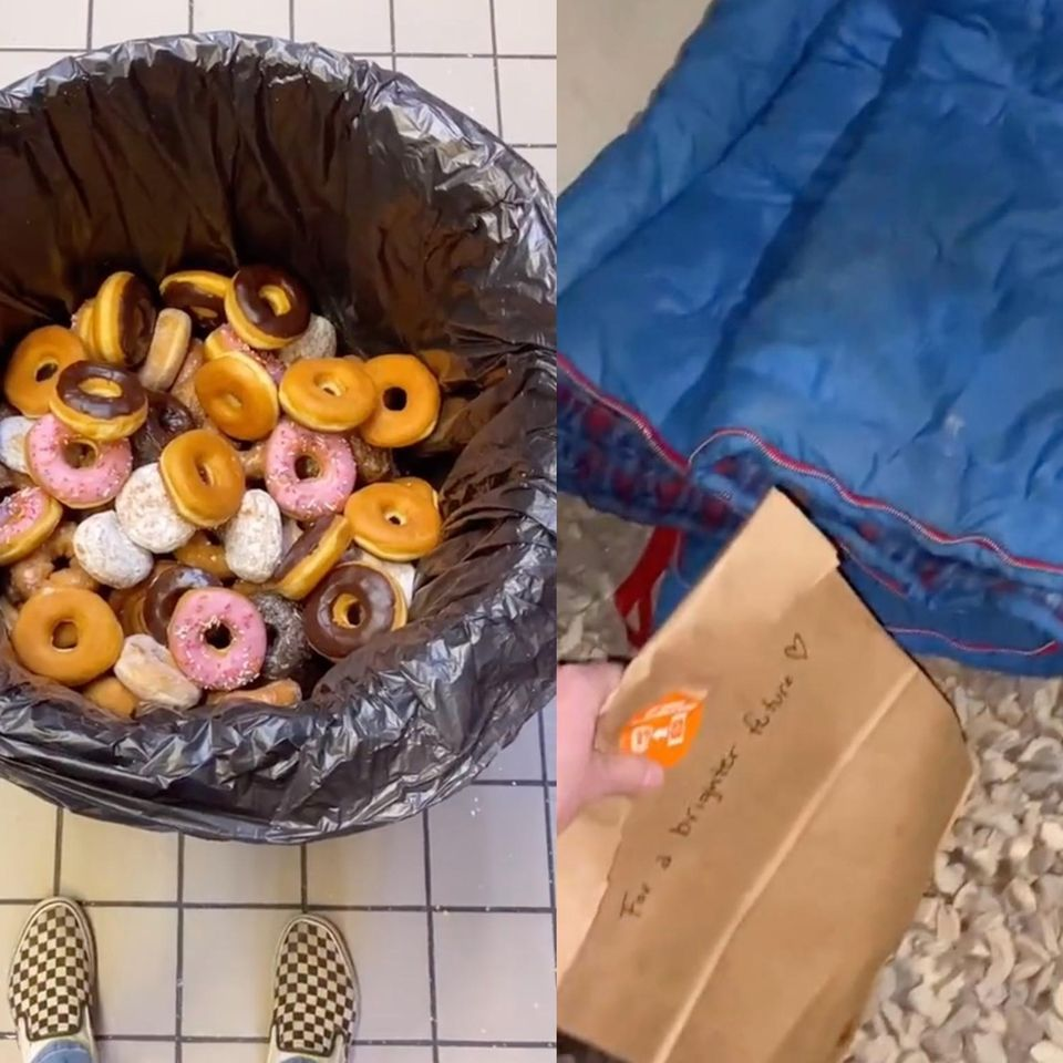 Donuts spenden