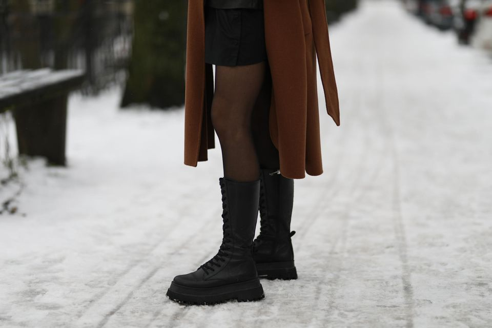 Winterstiefel, mit denen wir durch jeden Schneesturm kommen