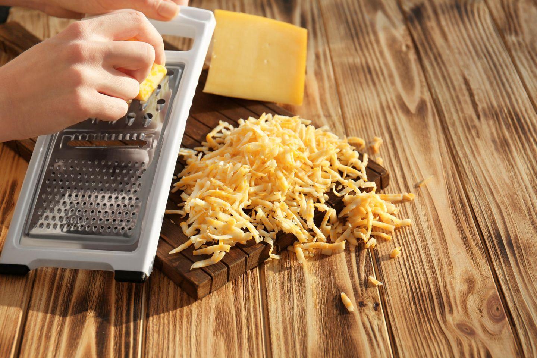 Rückruf von Käse: Geriebener Käse