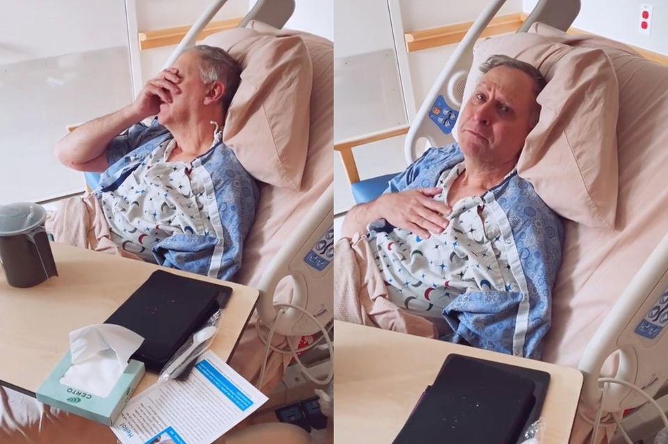 Vater mit Alzheimer