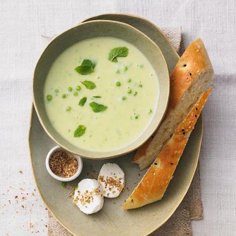 Erbsensuppe Erbsen-Kartoffel-Suppe