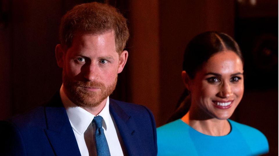 Prinz Harry und Meghan Markle: Ärger umd Schwangeschafts-Ansage