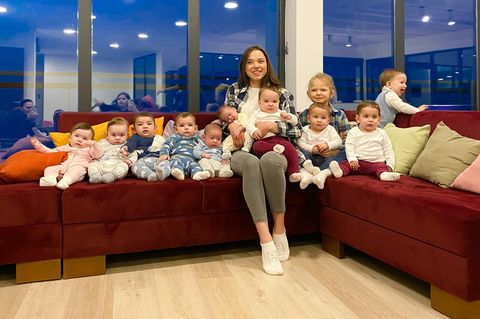Diese Frau hat elf Kinder – und es sollen noch mehr werden: Christina und ihre Kinder