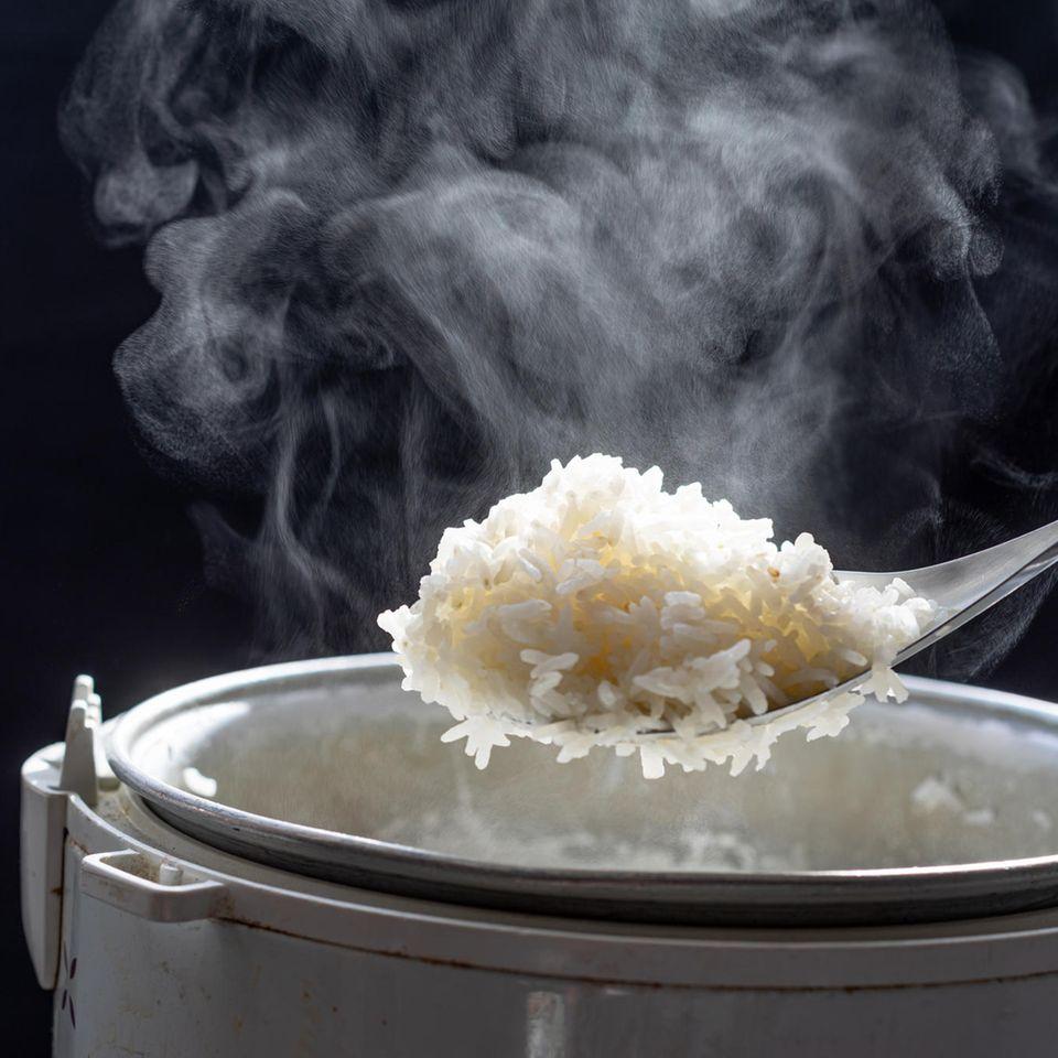 Rückruf: Kochender Reis